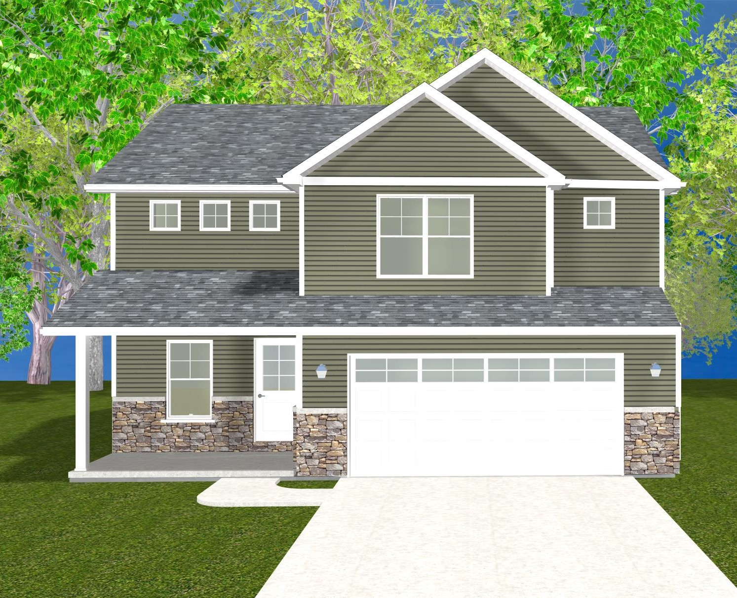 The Amelia Rose – Starting at $297,900 with Standard Lot
