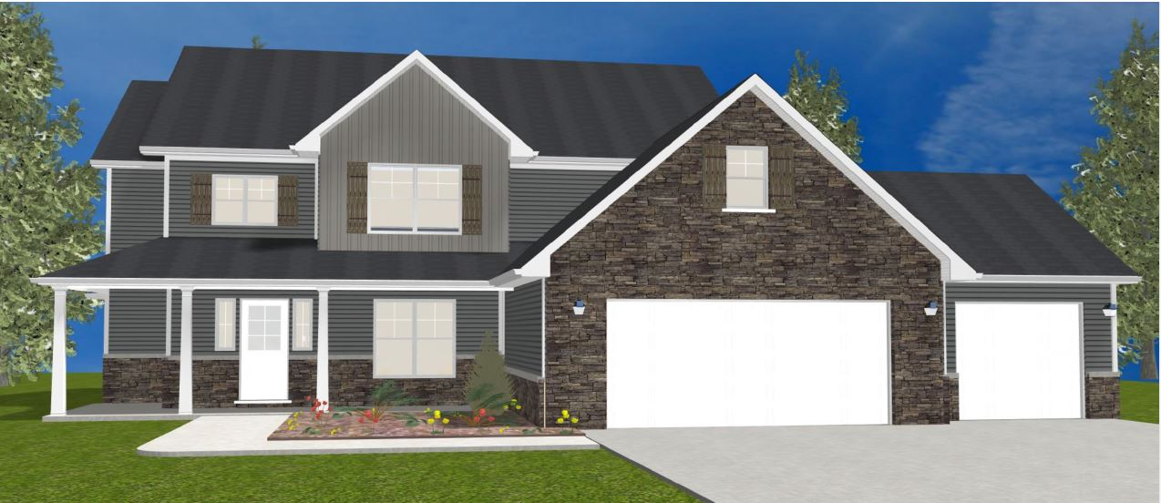The Kinkaid – Starting at $329,800 with Standard Lot